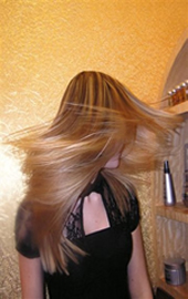 Brazilian Blow dry effect